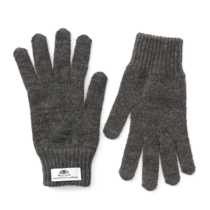 Machined Gloves - Charcoal