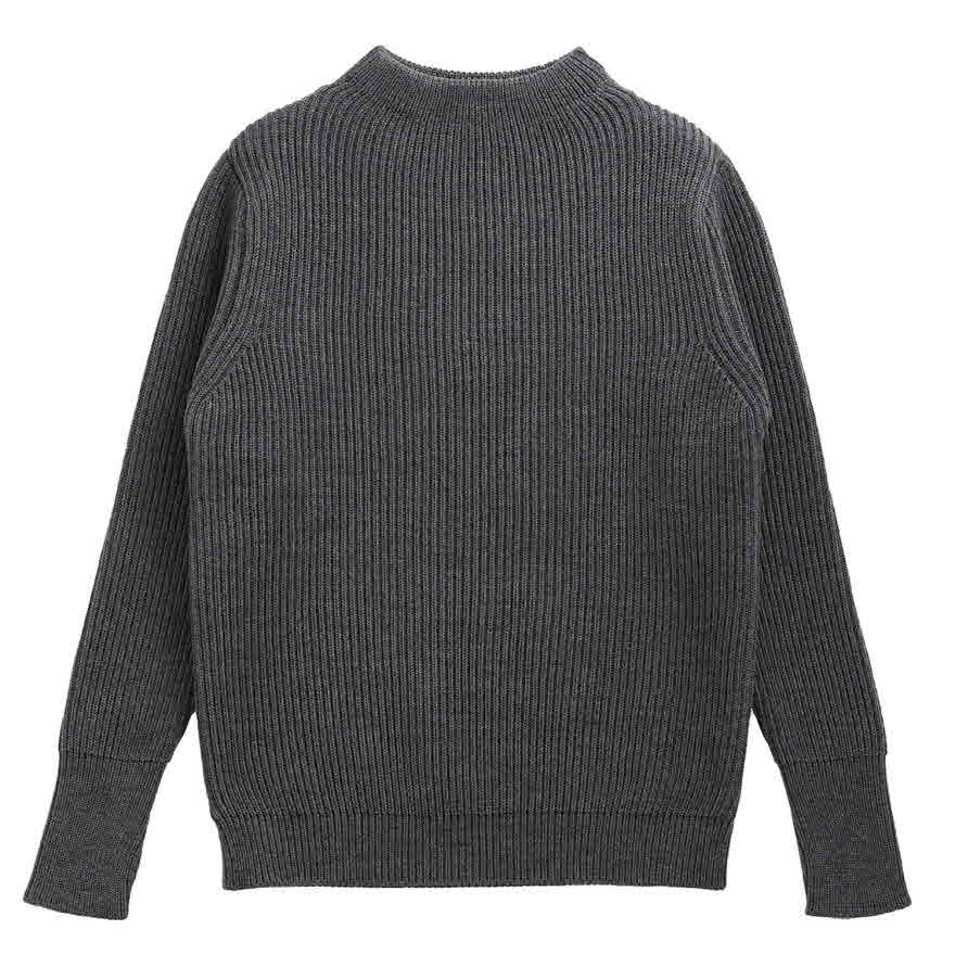 [진열상품] Navy Crewneck - Gray