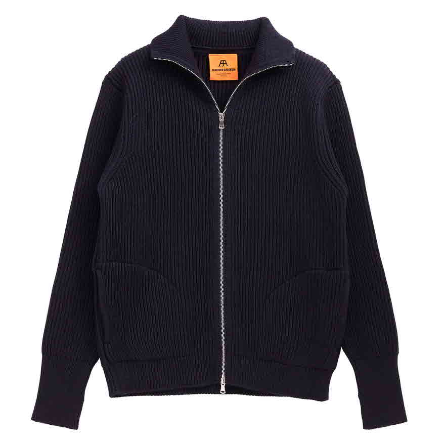Navy Full-zip Pocket - Navy Blue