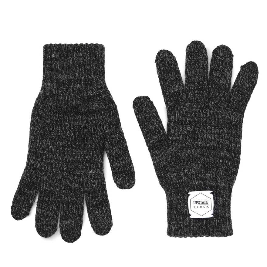 [재입고] Wool Glove - Black
