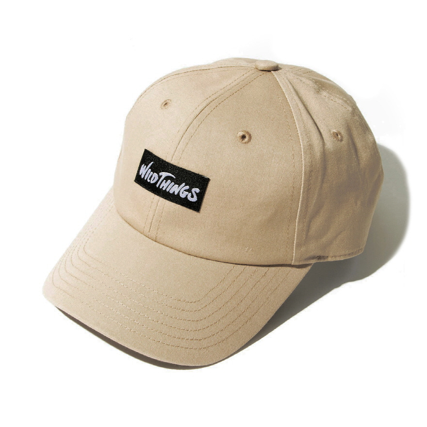 WT 6PANEL CAP - BEIGE