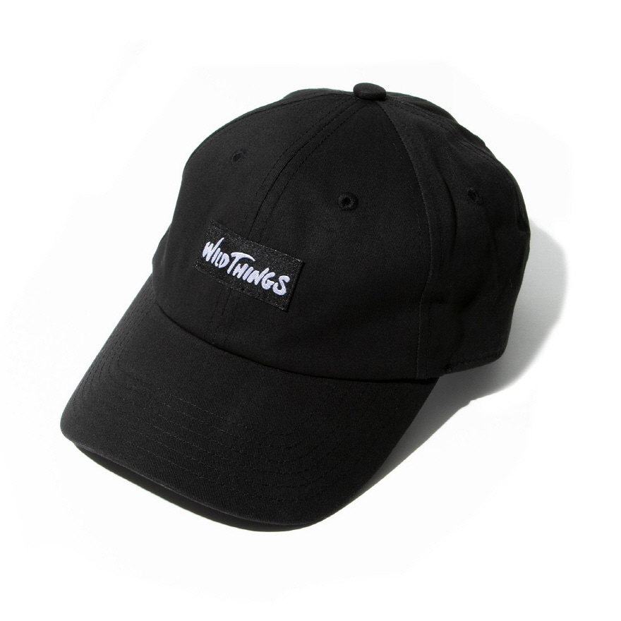 WT 6PANEL CAP - BLACK