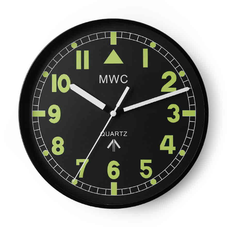 G10 Pattern Wall Clock