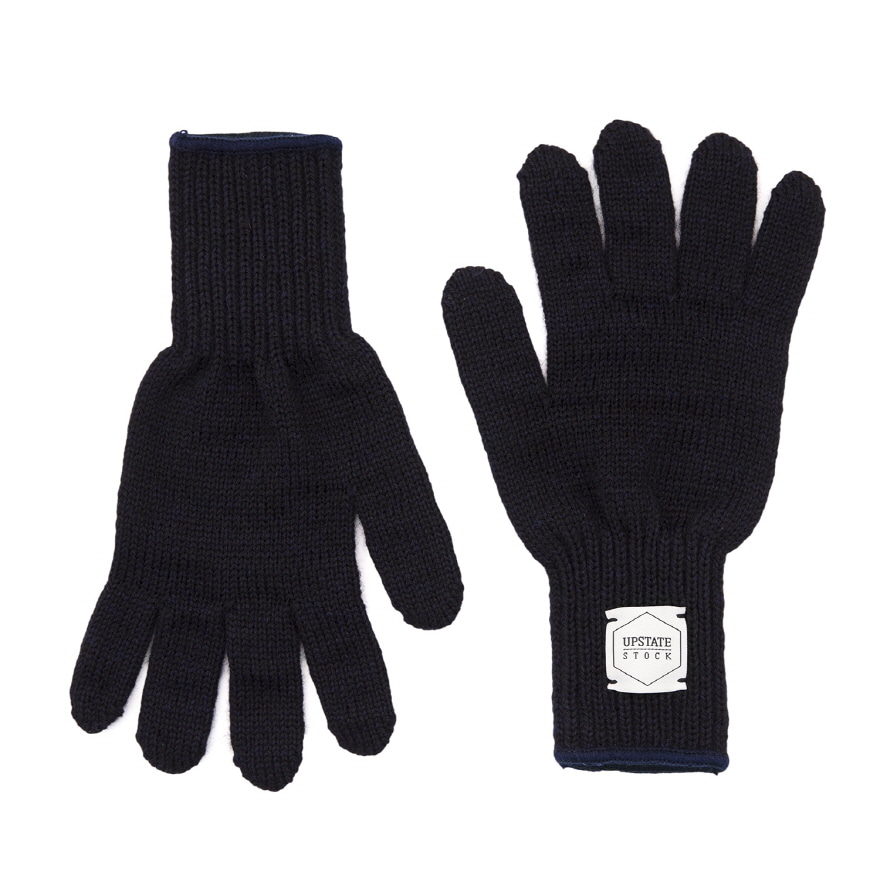 [재입고] Wool Glove - Navy