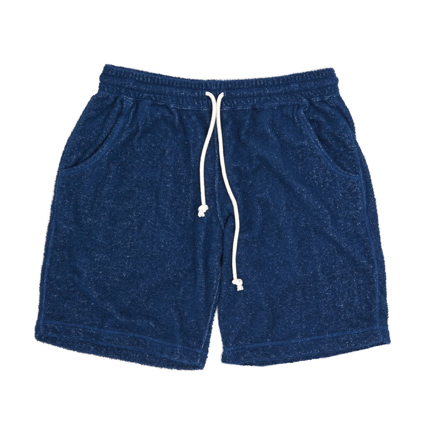 Double Pile Shorts - Deep Lagoon